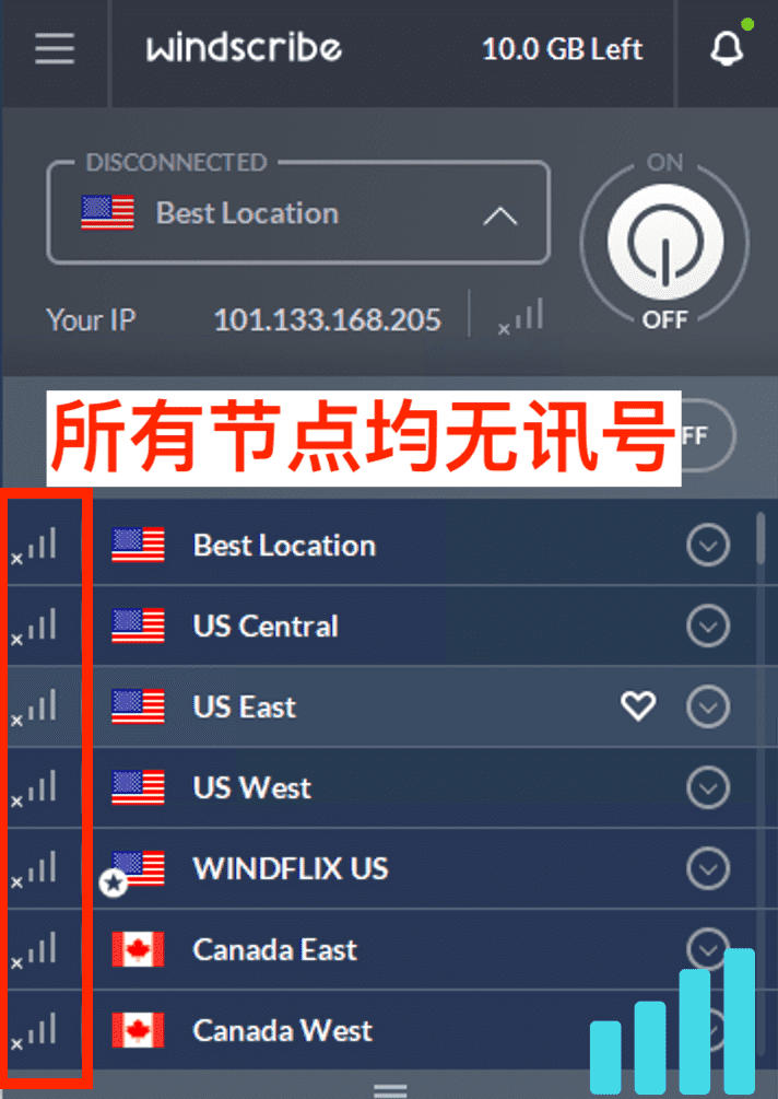 免费VPN Windscribe 中国